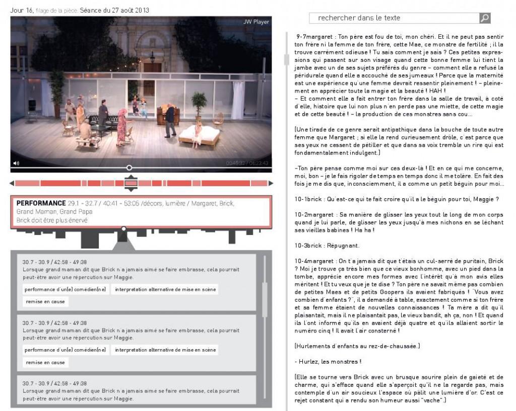 Maquette consultation corpus